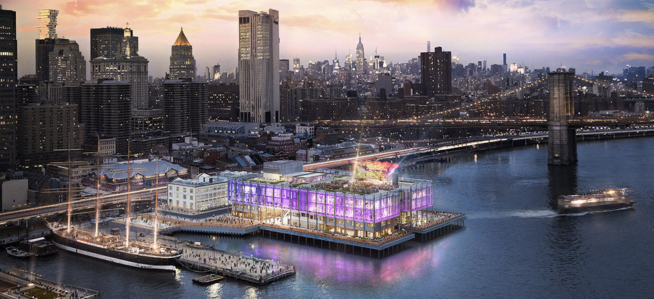 Pier 17 at the Seaport District