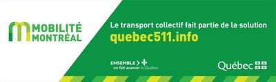 Logo : Mobilité Montréal (Groupe CNW/Ministère des Transports, de la Mobilité durable et de l