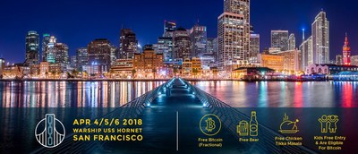 Block2TheFuture's agenda, featuring (among others) Dr. Larry Sanger and Tone Vays as speakers, is finalized for April 4-6 aboard a 1942 US naval warship in San Francisco.