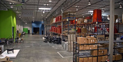 Invodo's 36,000 square-foot hybrid facility in Plano, TX is part warehouse, part video studio, allowing for fast, efficient access to thousands of SKUs.