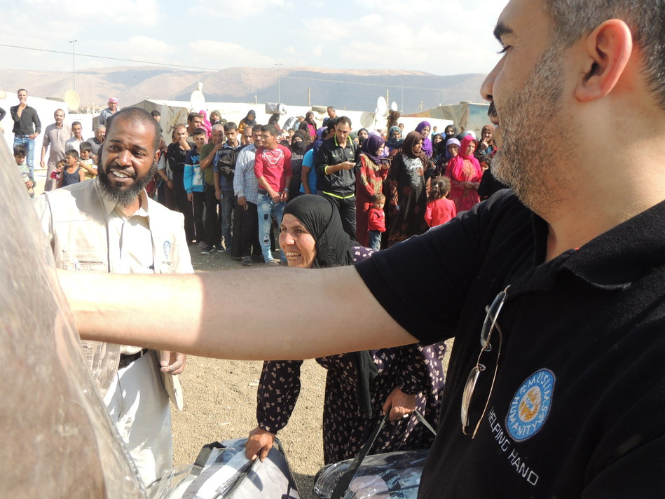 Helping Hand for Relief and Development has been providing humanitarian services to Syrian Refugees in Lebanon and Jordan since 2012