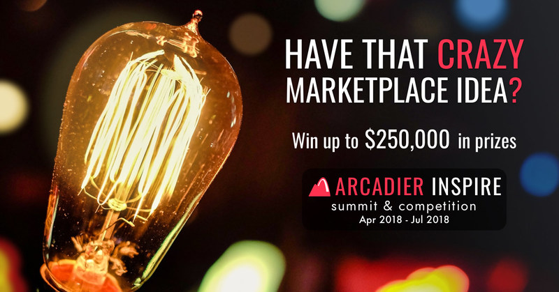 Join the Arcadier Inspire Marketplace Competition to win up to $250,000 in prizes including 1 million IHG Rewards Points. Join Arcadier Inspire Summit & Competition between 1st April & 31st July 2018