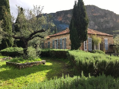 The Patrick and Joan Leigh Fermor House, in Kardamyli, Southeast Peloponnese, Greece, will available to rent through the Benaki Museum and Aria Hotels (Image by Kamilo Nollas) (PRNewsfoto/Benaki Museum and Aria Hotels)
