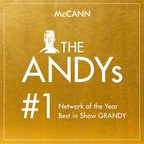 McCann Repeats as Network of the Year at ANDY Awards