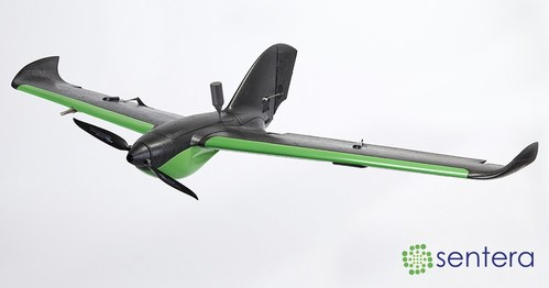 Sentera's dual-band RTK payload on the PHX fixed-wing drone delivers data with sub-5cm and better accuracy in real time, creating more precise results, faster for agriculture, survey, and mapping customers.