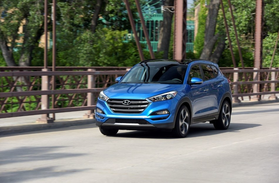 Hyundai Adds Exclusive Engine to Tucson Sport Trim for the 2018 Model Year - Hyundai's Tucson Sport is now equipped with a 2.4-liter inline four-cylinder GDI producing 181 horsepower and 175 lb.-ft. of torque, an advantage over key competitors the Toyota RAV4 and Nissan Rogue.