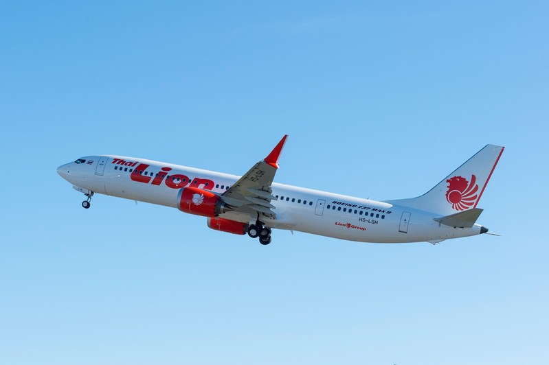 Boeing delivered its very first 737 MAX 9 to Thai Lion Air. The MAX 9's extra capacity will help the airline add several international routes.