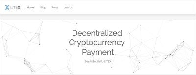 LITEX uses non-bankcard payment to enable decentralized instant micro-payment for cryptocurrencies