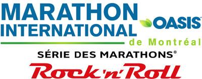 Logo : Marathon international Oasis de Montréal (Groupe CNW/Marathon international Oasis de Montréal)