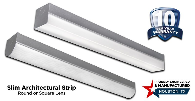 Slim Architectural Strip LED Lighting by XtraLight
