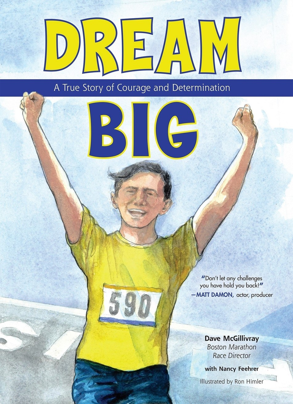 Boston Marathon Race Director Dave McGillivray has run the marathon 45 times, directed it for 30 years and run across the country for charity. This year, he's also written a children's book.