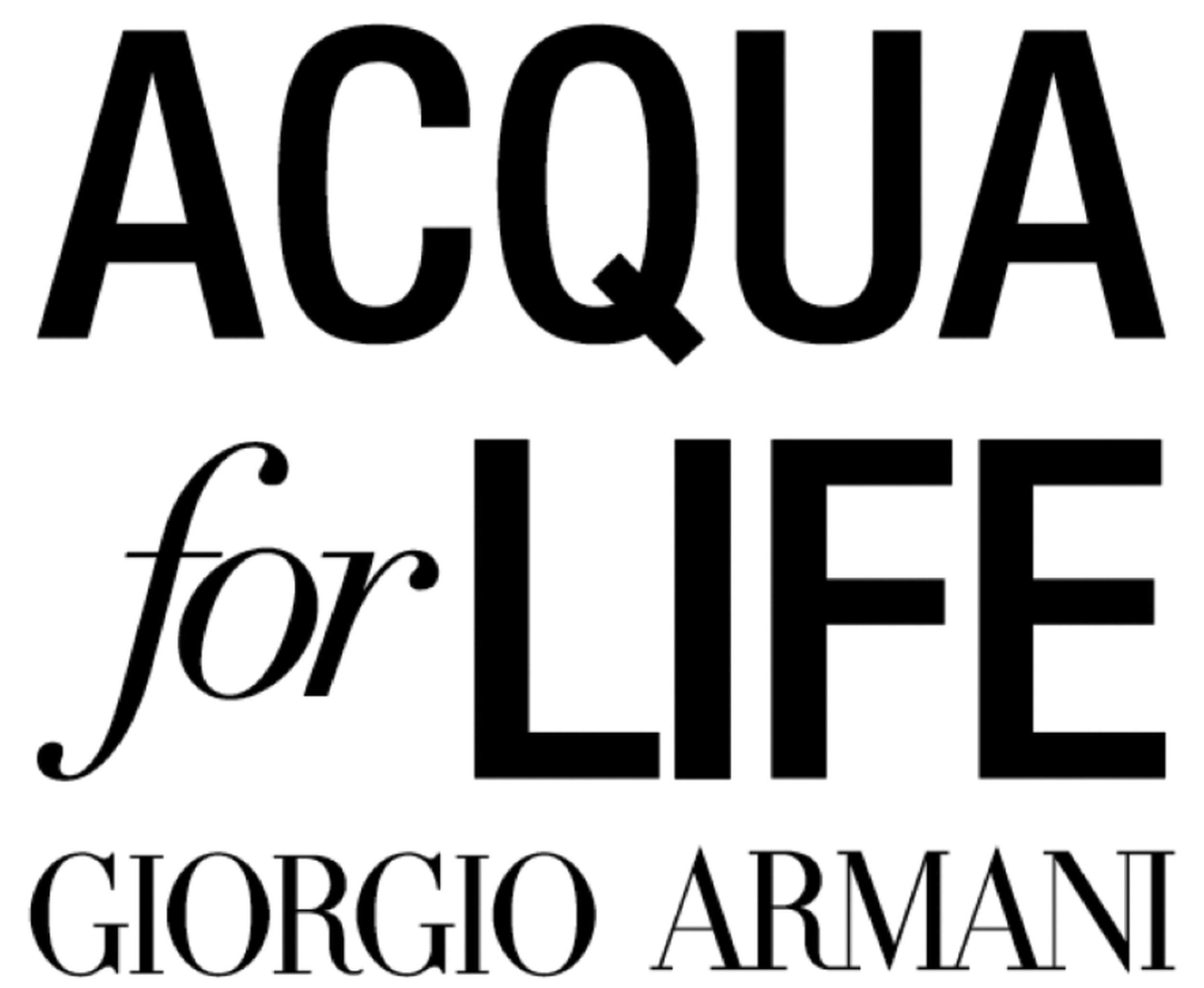 Giorgio Armani Enters the Ninth Year of its Acqua for Life
