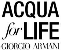 Giorgio Armani Acqua for Life – Logo (PRNewsfoto/Giorgio Armani Beauty)