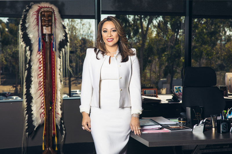 Dedicated philanthropist and thriving entrepreneur Twila True is an Oglala Lakota Sioux whose parents were born on the Pine Ridge reservation in South Dakota. She is the founder of the True Hope Sioux Foundation and CEO of True Family Enterprises, which she founded alongside husband Alan in 2012.