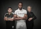 Usain Bolt, Diego Maradona & José Mourinho Meet for a Match of Friendship