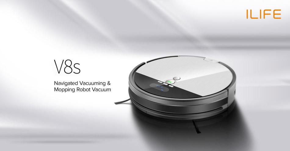 Ilife V8s Self Navigating 2 In 1 Robot Vacuum Global Launch