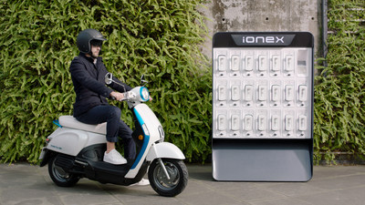 KYMCO Ionex Electric Vehicle Solution