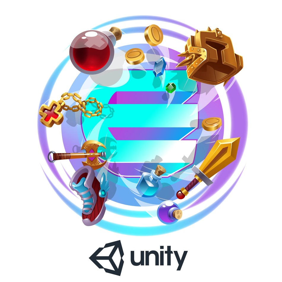 Unity and Enjin Coin Partner to Empower Game Developers With Blockchain (PRNewsfoto/Enjin)