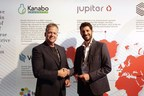 Avihu & Mark shake hands after signing at CannTech TLV 2018 (PRNewsfoto/Kanabo Research)