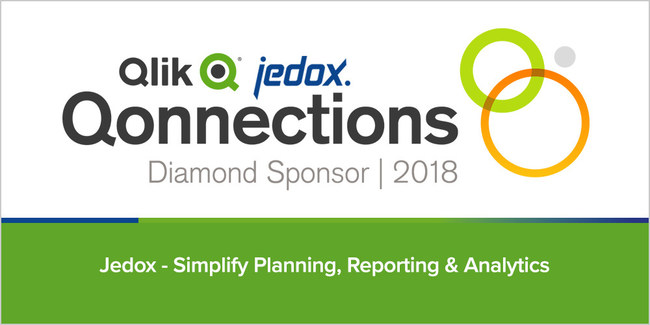 Jedox brings its seamless Enterprise Planning platform to Qlik's global user and partner conference.