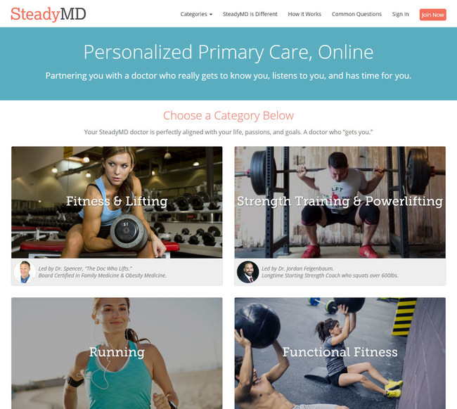 Personalized Primary Care, Online