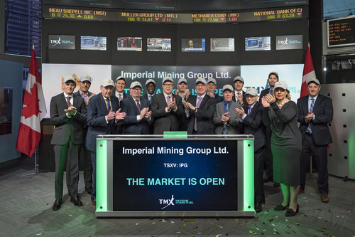 Imperial Mining Group Ltd. Opens the Market (CNW Group/TMX Group Limited)