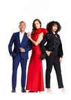Cast from left to right: Joe Zee, Kim Cloutier and Vanessa Craft. Photo courtesy of Corus Entertainment. (CNW Group/Corus Entertainment Inc.)