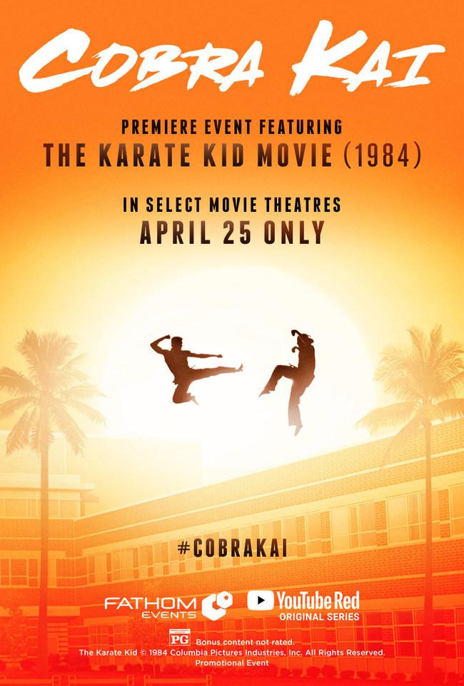 Cobra Kai: Premiere Feat. The Karate Kid