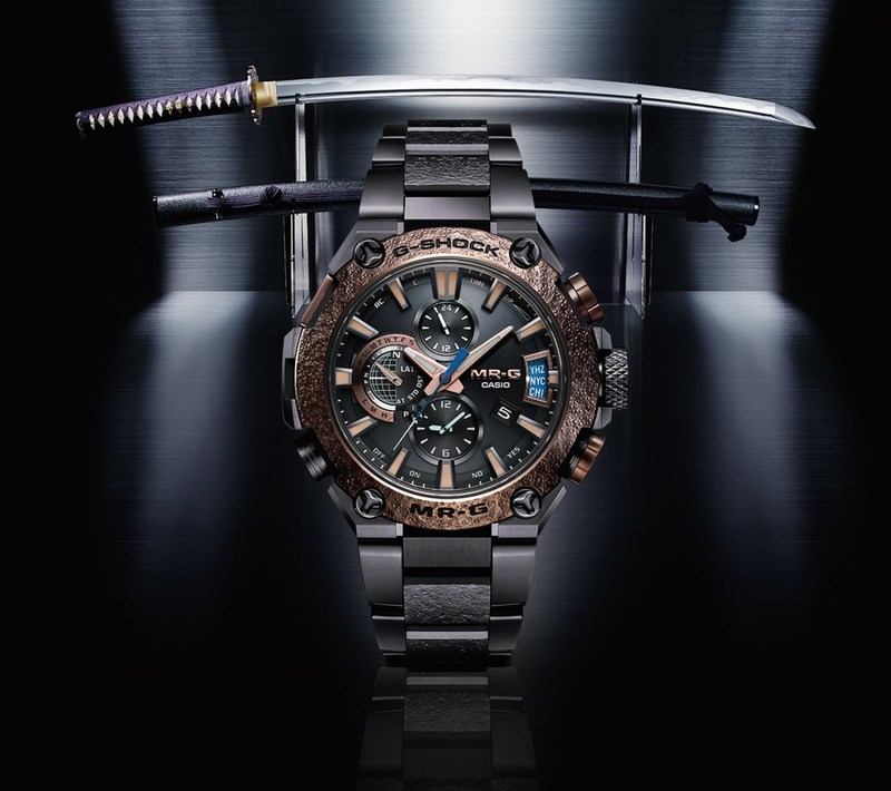 The Latest Collaboration With Third Generation Master Craftsman Biho Asano, The G-SHOCK Special Edition MRGG2000HA-1A