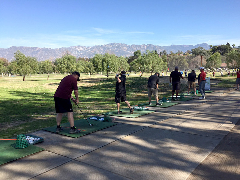 Wounded Warrior Project® invited injured veterans to fine-tune their golf swing, connect, and enjoy the beautiful scenery of the San Gabriel Mountains.