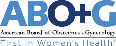 ABO+G logo (PRNewsfoto/American Board of Obstetrics an)