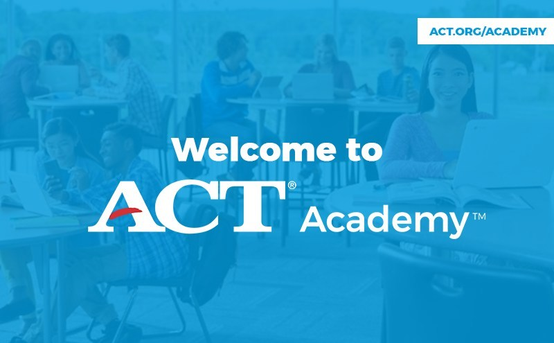 ACT, the nonprofit best known for offering the ACT® test, the leading college readiness exam in the US, today launched ACT Academy to help students improve their academic skills by giving them access to the world's leading collection of online learning resources. ACT® Academy™ is now open at act.org/academy.