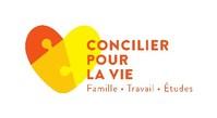 Logo : La Coalition pour la conciliation famille-travail-études (Groupe CNW/Fédération des associations de familles monoparentales et recomposées du Québec)
