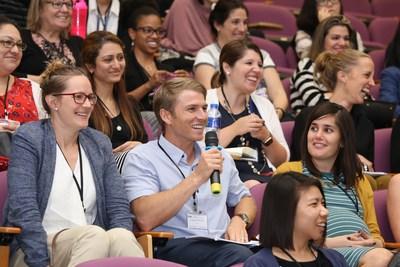 Session de questions-réponses pour les éducateurs professionnels (PRNewsfoto/Yew Chung International Schools)