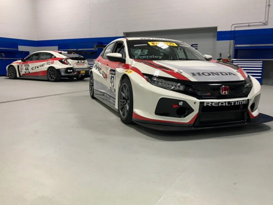 RealTime Racing will field a pair of Honda Civic Type R entries at the Circuit of the Americas this weekend, driven by Ryan Eversley and Nick Esayian.