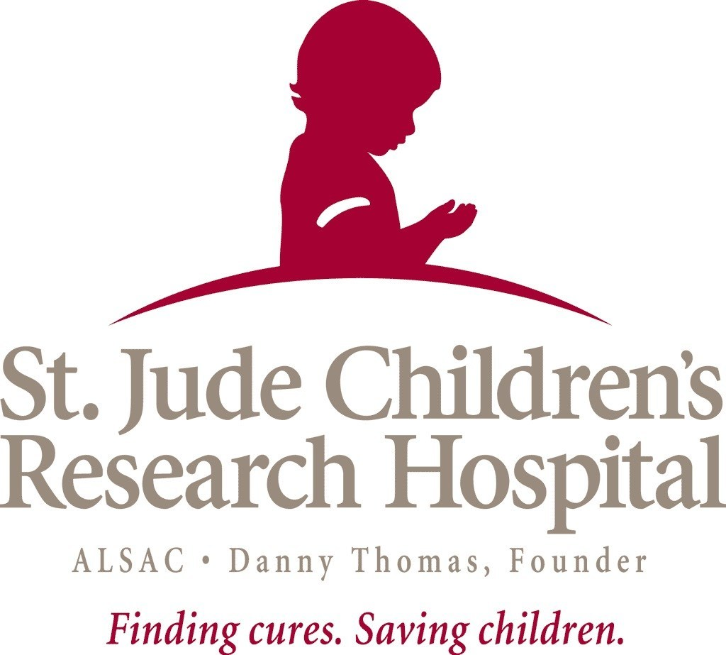 St. Jude Children's Research Hospital (r) Logo