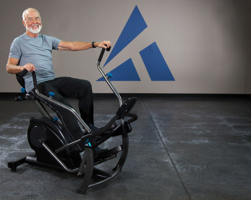 """Similar to commercial-grade equipment used in physical therapy clinics, the FreeStep™ delivers a comfortable, effective """"Back-Wise and Body-Healthy"""" workout for any level of fitness."""