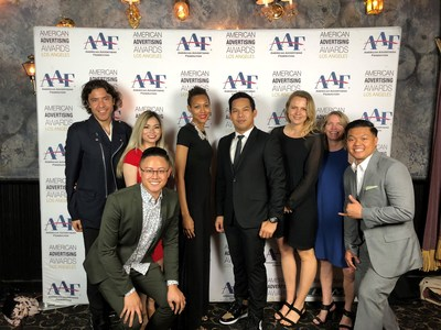 Local creative firm, Agency ETA, wins big at the ADDYs for their educational water conservation work targeting elementary school aged children