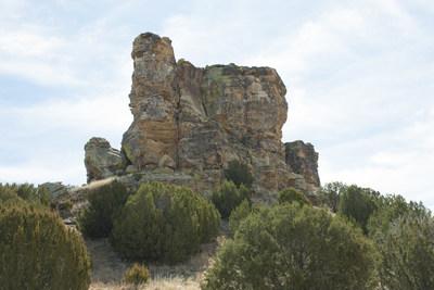 Windsplitter Rock - Refuge Landmark