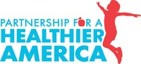 Partnership for a Healthier America logo (PRNewsfoto/Partnership for a Healthier Ame)