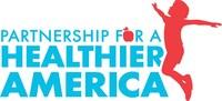 Partnership for a Healthier America logo (PRNewsfoto/Partnership for a Healthier Ame)