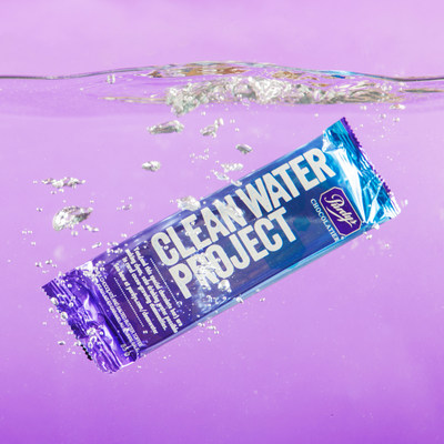 The Clean Water Project bar - milk chocolate and salted butter toffee (CNW Group/Purdys Chocolatier)