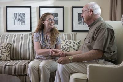 Oak Park Village Senior Living Team Member and Resident