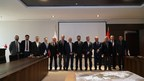 Officials of HBKU and IHU together at the signing ceremony in Istanbul (PRNewsfoto/HBKU)