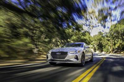 All  Genesis G70 models ride on a MacPherson multi-link front and multi-link rear suspension with a performance-oriented geometry, offering optimal wheel control and a finely-tuned balance between ride comfort and handling prowess.