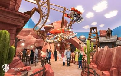 阿布扎比华纳兄弟主题公园活灵活现地展现广受喜爱的动画角色