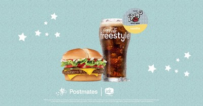 Jack in the Box and Postmates have partnered to bring on-demand delivery of Jack in the Box's entire menu to Postmates customers, any time of the day. To celebrate the launch of this partnership, from March 25th - March 31st, Postmates customers can score a free Jumbo Jack by getting a friend to try Jack in the Box via Postmates delivery.