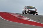 Autos de Honda Touring brillan en el Circuito de las Américas
