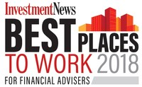 InvestmentNews Best Places To Work For Financial Advisers 2018