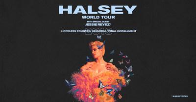 Halsey Announces Hopeless Fountain Kingdom / World Tour The Final Installment